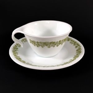 Vintage Corelle Spring Blossom Cup and Saucer